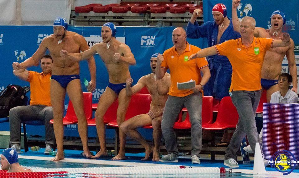 Los holandeses celebraron con euforia la victoria ante España / MARCEL TER BALS