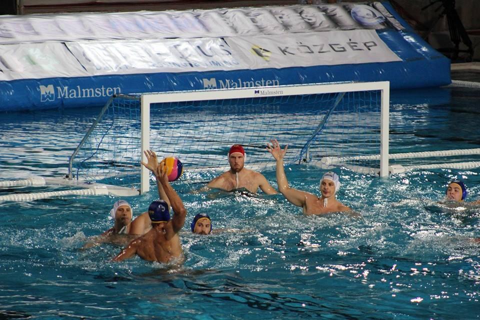 Una imagen del partido entre los marineros y los húngaros / V.K.