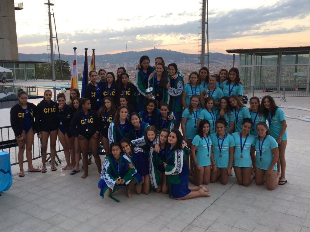 El Mediterrani se impuso en la final femenina al Catalunya / FCN