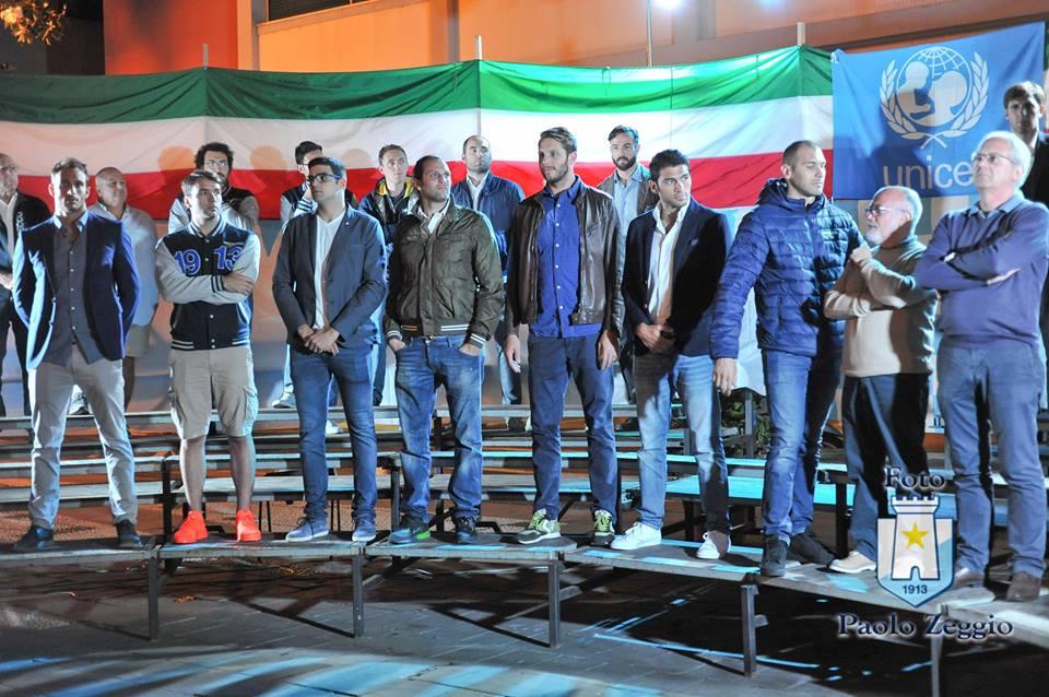 Una imagen de la celebración realizada ayer en la ciudad de Recco / V.K.