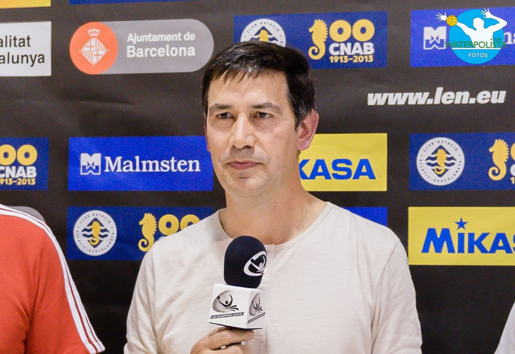 Juan Carls García durante la retransmisión de un encuentro de Champions League / ATELIER PHOTO
