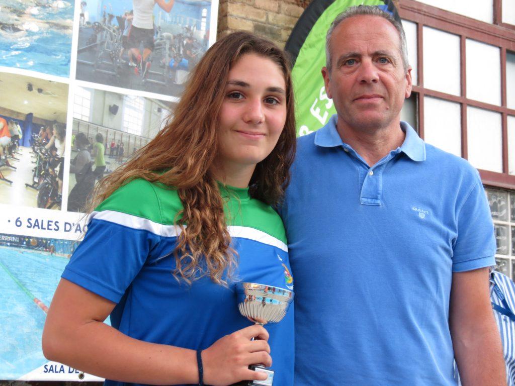 La guardameta del Leioa fue elegida mejor portera del Campeonato de España cadete / G.A.