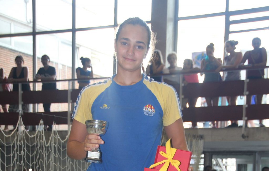 La portera del Cataluya fue elegida mejor meta del Campeonato / J.L. VIDONDO