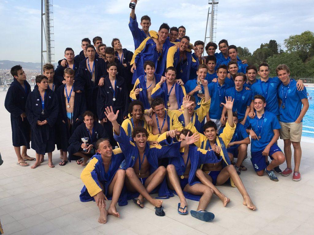 Tras CNAB y CNB, el Mediterrani completó el podio con la medalla de bronce / FCN