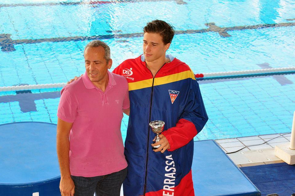 Álvaro Granados (CN Terrassa) fue elegido mejor jugador del Campeonato / MIKE LENARD