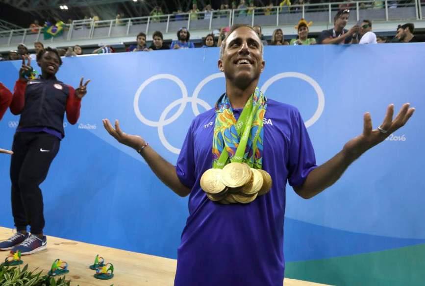 El seleccionador estadounidense después de conseguir el oro olímpico / V.K.