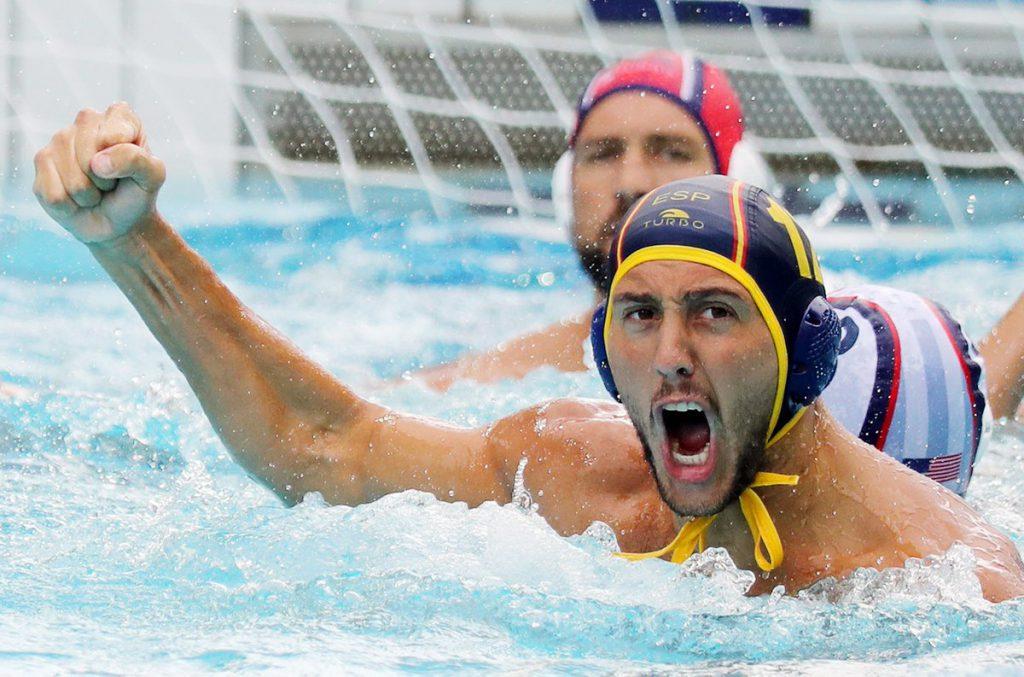 El hispano -argentino Chalo Echenique durante el partido ante USA / REUTERS
