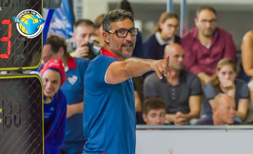 El entrenador del Mataró La Sirena valora los rivales de Euro League / JOSEP ARNAU (ATELIER PHOTO)