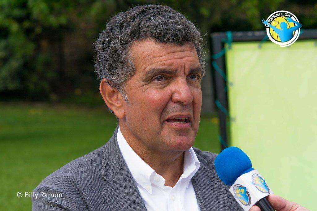 Enric Bertrán durante la entrevista concedida a WATERPOLISTA.com / B.R.