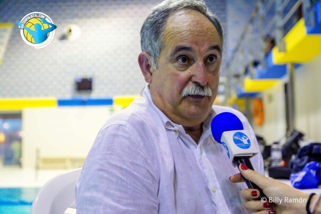 El presidente del CNAB durante une entrevista concedida a WATERPOLISTA.com / BILLY RAMÓN