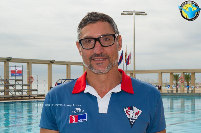 Florín Bonca posó para WATERPOLISTA.com el pasado sábado en la Joan Serra / JOSEP ARNAU (ATELIER PHOTO)