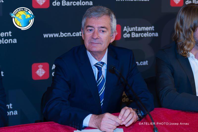 Fernando Carpena durante un acto reciente en Barcelona / JOSEP ARNAU (ATELIER PHOTO)
