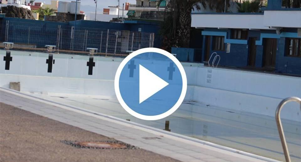 Este es el actual estado de la piscina de puerto de la for Piscina municipal puerto de la cruz